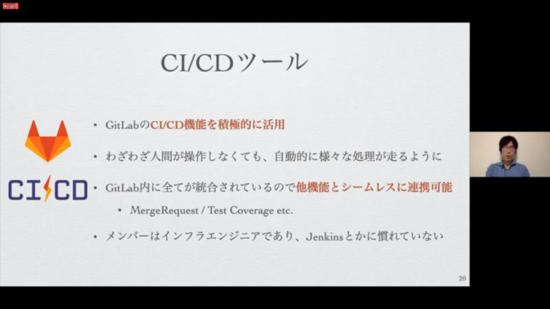 CI/CDも導入