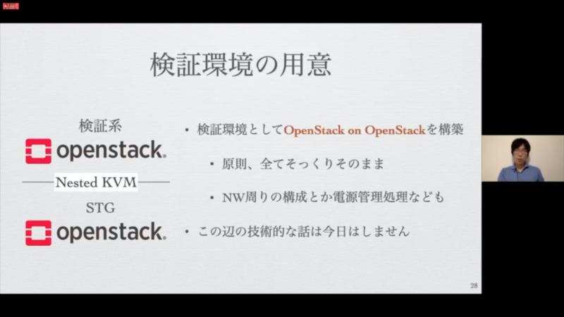 OpenStackの検証環境をOpenStack上に用意