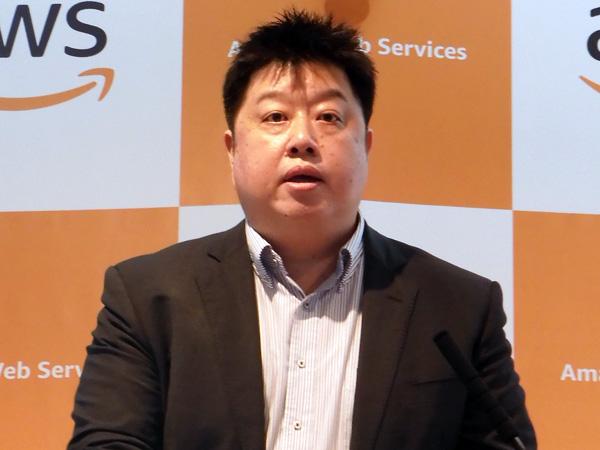 AWSジャパン 技術統括本部長 執行役員の岡嵜禎氏