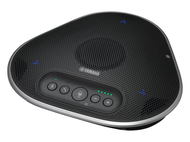 スピーカーフォンも、ヤマハやNTTテクノクロス、サンワサプライなど、多くのメーカーから製品化された。写真はヤマハの「YVC-330」