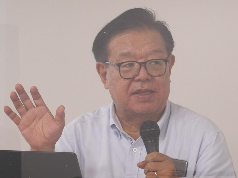 慶應義塾大学教授の村井純氏