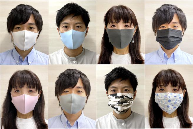さまざまな柄のマスクをしている場合でも抽出可能に