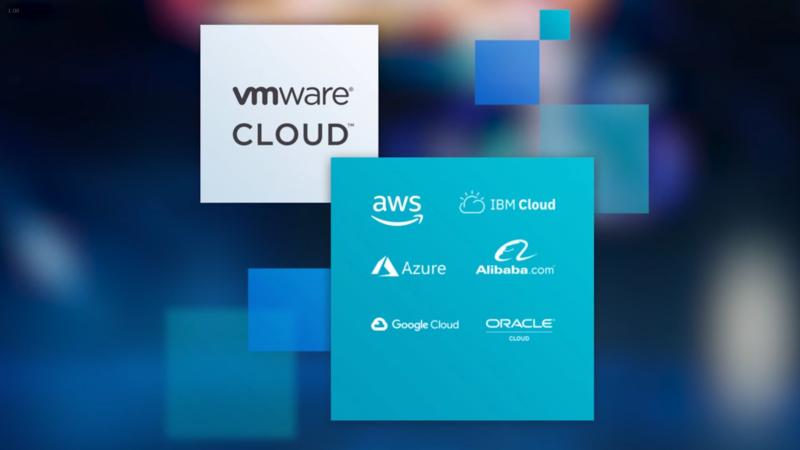 さまざまなクラウドパートナーでVMware Cloudが動く