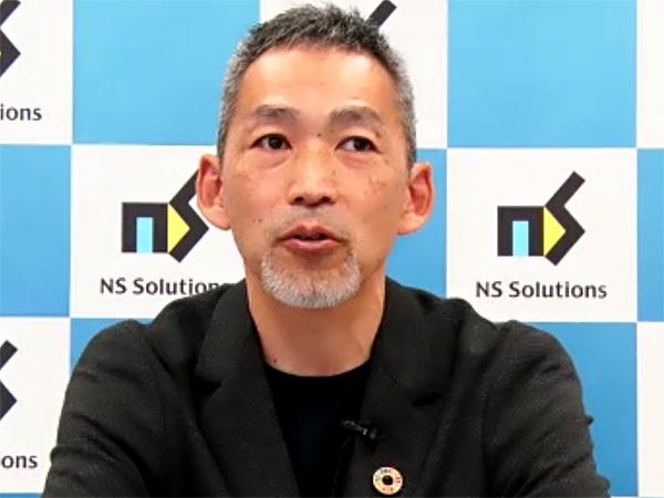 NSSOL 執行役員 DX推進ソリューション企画・コンサルティングセンター所長の齋藤聡氏