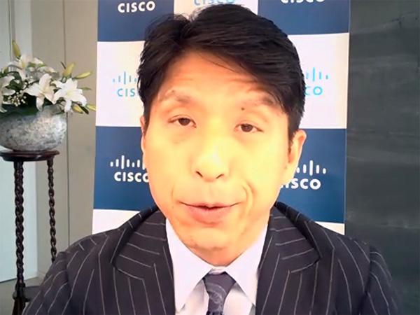 シスコ 副社長 情報通信産業事業統括 中川いち朗氏