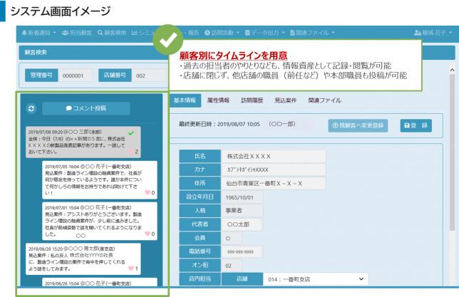 システム画面イメージ