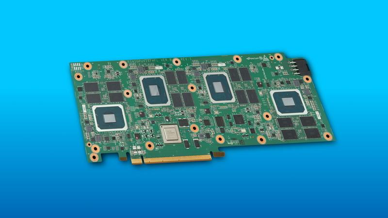 Intelが発表したIntel Server GPU(SG1)を4つ搭載したアドオンカード「H3C XG310」