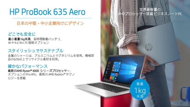 HP ProBook 635 Aero G7n