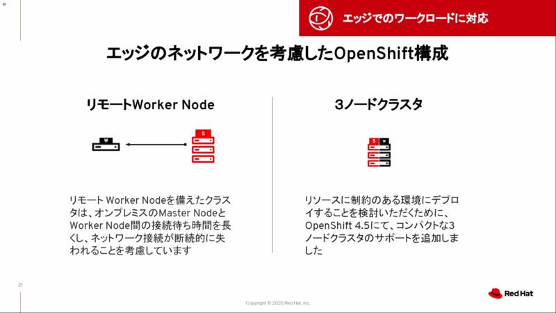 OpenShiftのエッジ対応の構成