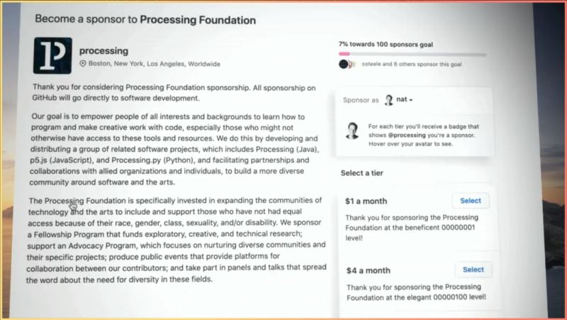 GitHub Sponsorsに企業からの寄付に対応