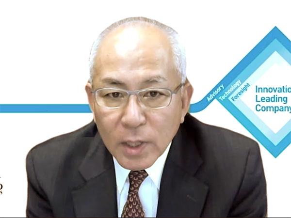 日商エレクトロニクス 代表取締役社長 CEOの寺西清一氏
