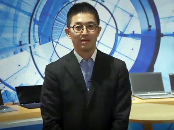 日本HP 常務執行役員 デジタルプレスビジネス事業本部の岡戸伸樹本部長