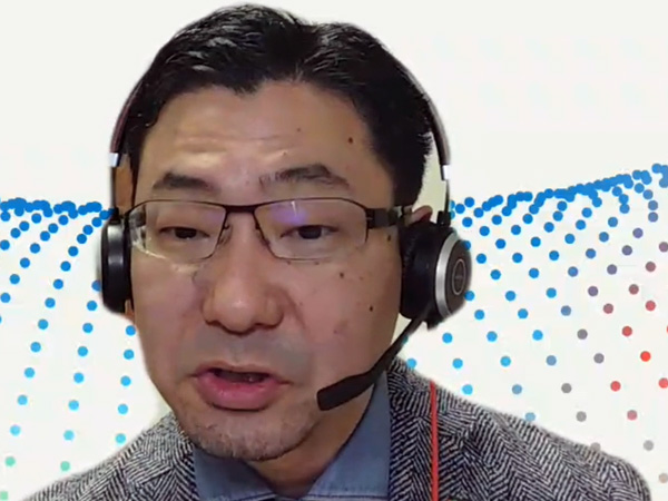 日本マイクロソフト 業務執行役員 Azureビジネス本部の上原正太郎本部長