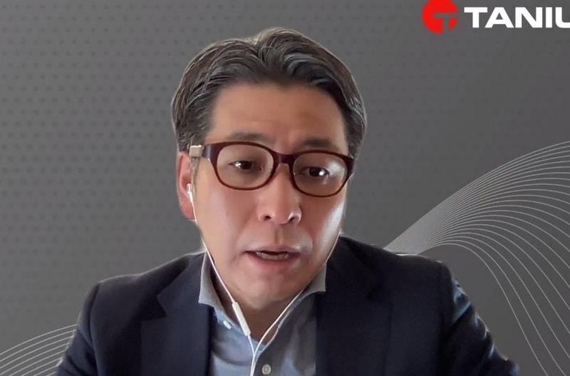 タニウム 代表執行役社長 古市力氏