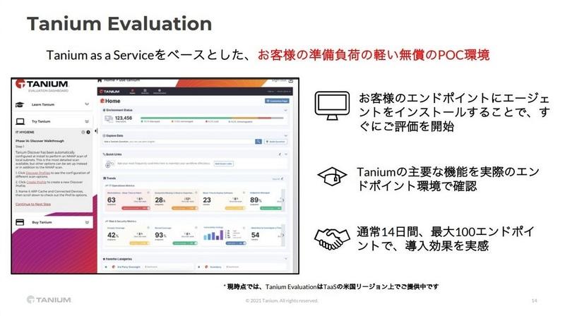 Tanium Evaluationについて