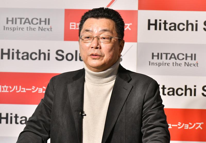 日立ソリューションズ ビジネスイノベーション事業部 事業部長の平野仁一氏
