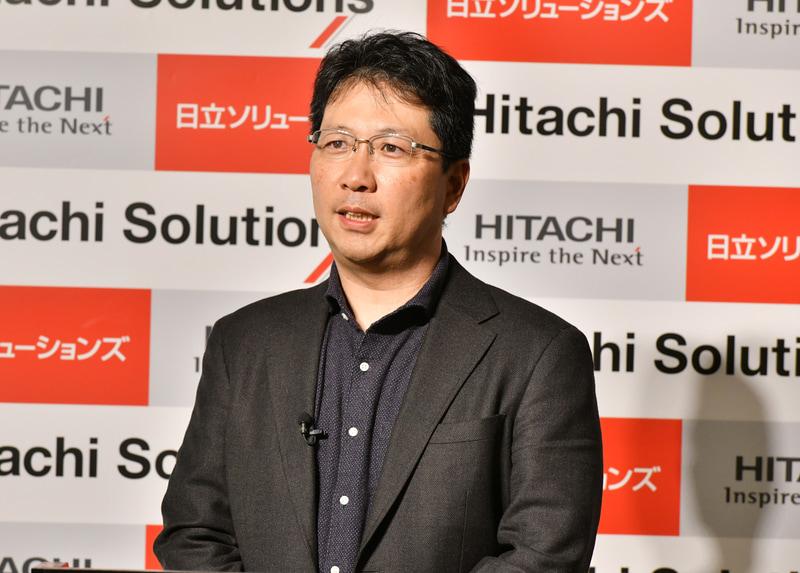 日立ソリューションズ ビジネスイノベーション事業部 デジタルソリューション本部 本部長の内藤英樹氏