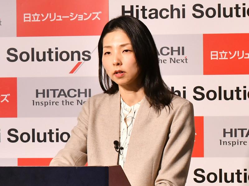 日立ソリューションズ ビジネスイノベーション事業部 デジタルソリューション本部 担当部長の日高智美氏