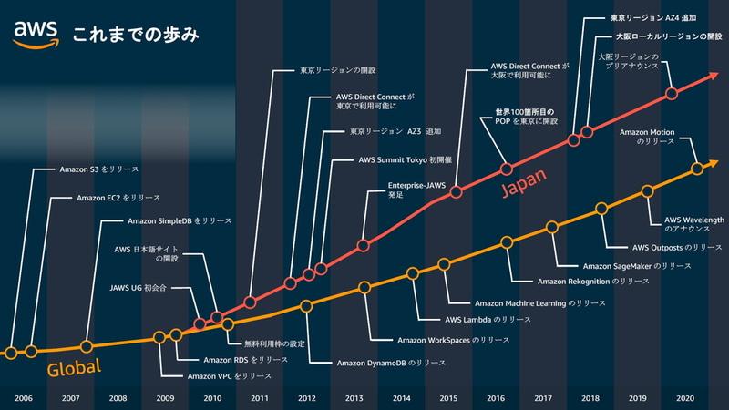 日本におけるこれまでの歩み