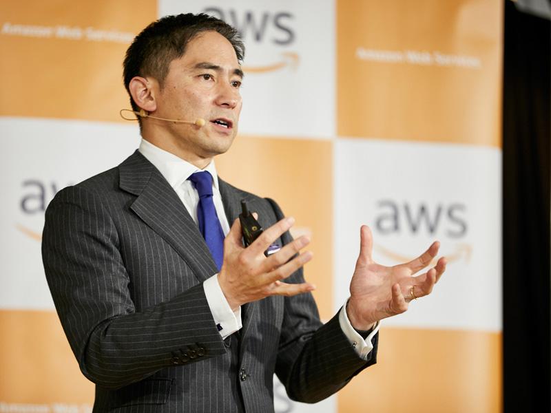 AWSジャパン 代表取締役社長の長崎忠雄氏(提供:AWSジャパン)