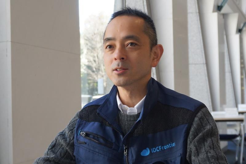 株式会社IDCフロンティア カスタマー本部 サイトオペレーション部 片寄光大郎氏