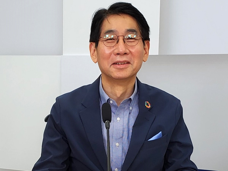 NEC 代表取締役 執行役員社長兼CEOの森田隆之氏(提供:NEC)