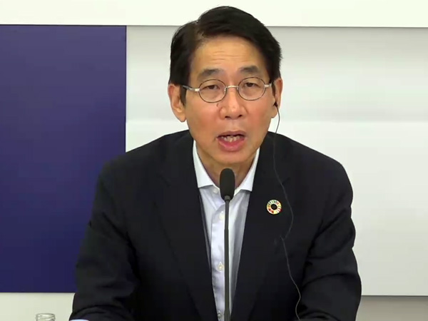 NEC 代表取締役 執行役員社長兼CEOの森田隆之氏