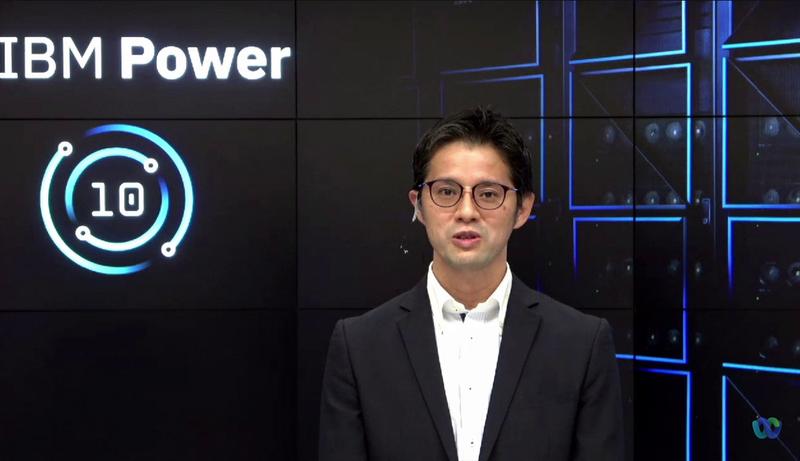日本IBMの黒川亮氏(理事 テクノロジー事業本部 IBM Power事業部長)