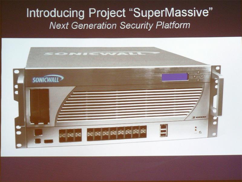 Project Supermassiveのプロトタイプ。Interop Tokyo 2010にも展示される