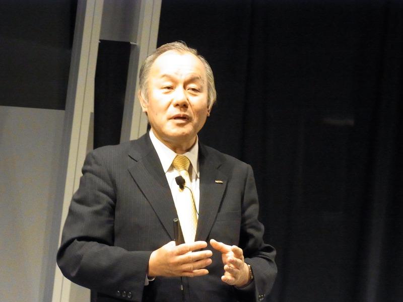 NTT Comの代表取締役副社長、海野忍氏