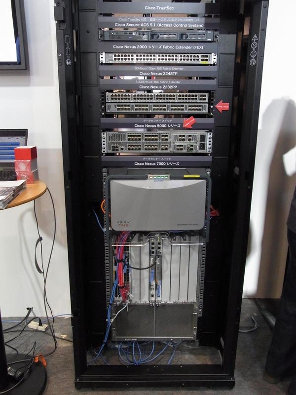 Nexusシリーズのデータセンター向けスイッチやFCoE(FC on Ethernet)機器など