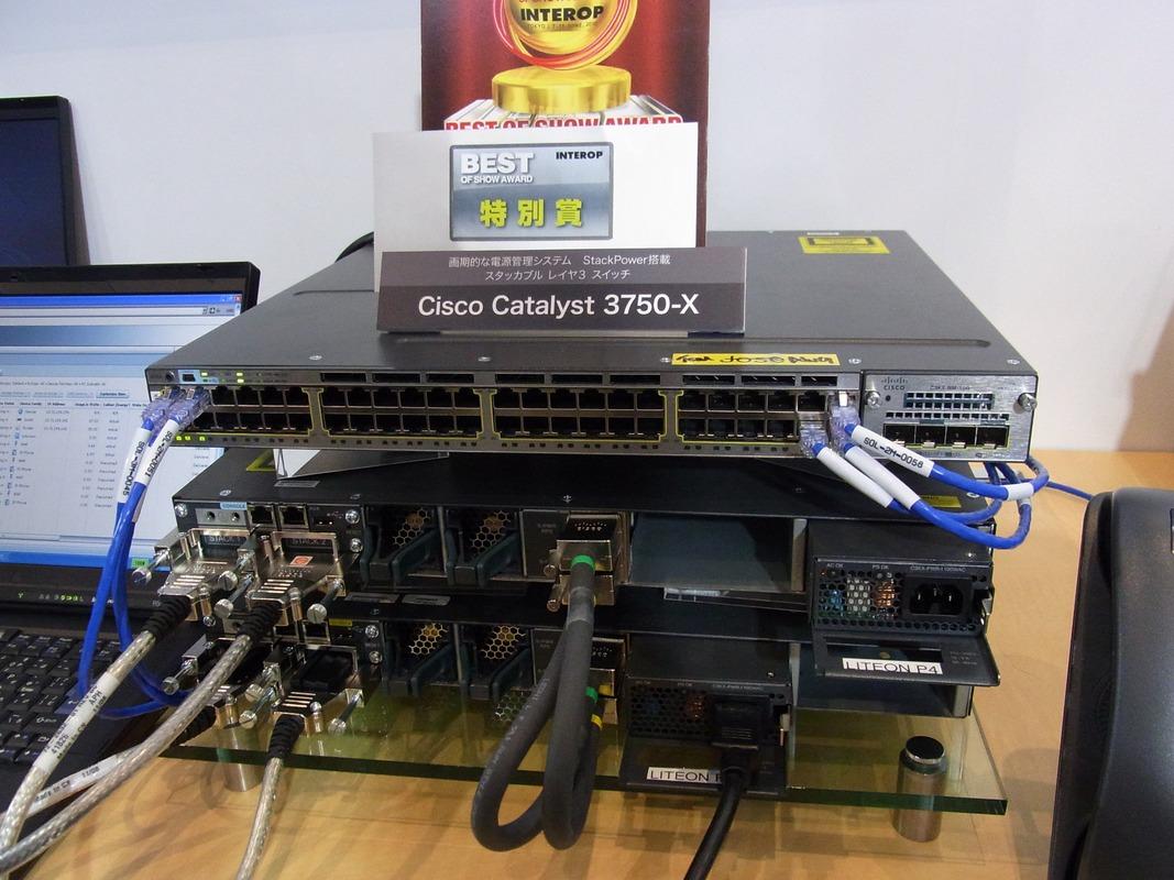 電源管理システムを搭載したCatalyst 3750-X