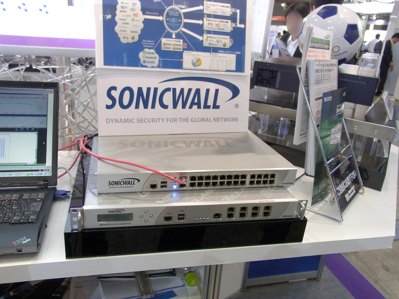 UTM製品SonicWALL NSA2400MX、NSA E6500(マクニカ)