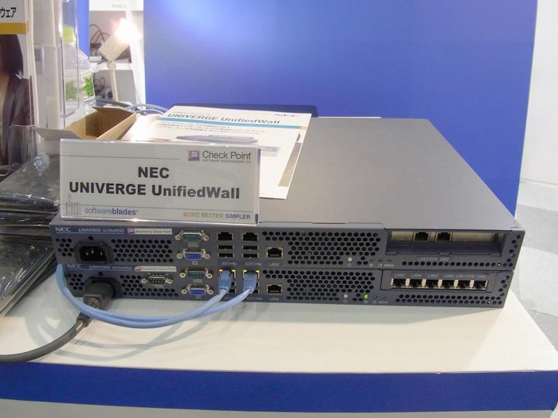 UTMアプライアンスNEC UNIVERGE UnifiedWall