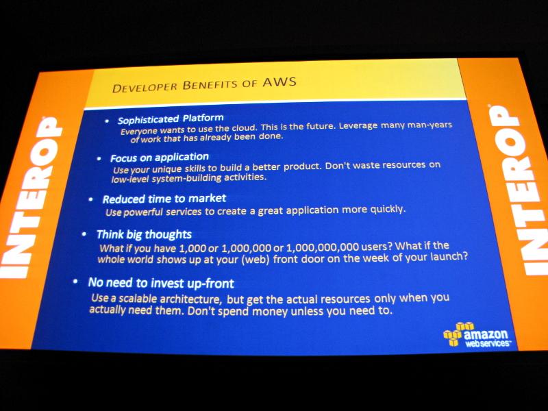 Amazon Web Servicesを利用する開発者のメリット