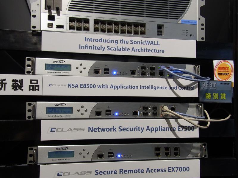 【審査員特別賞】Network Security Appliance E-Class NSA E8500