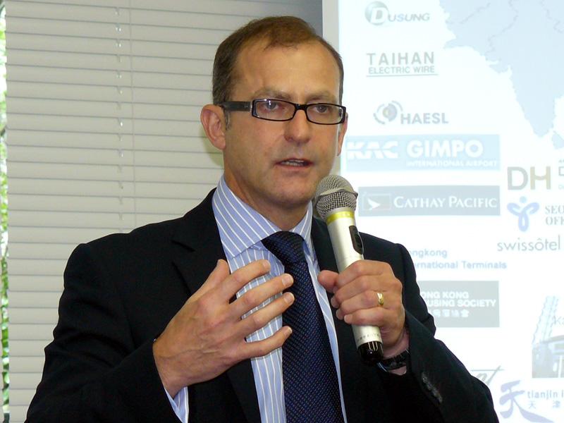 米Meru Networks インターナショナル・セールス担当バイスプレジデントのデイビッド・ケリー氏