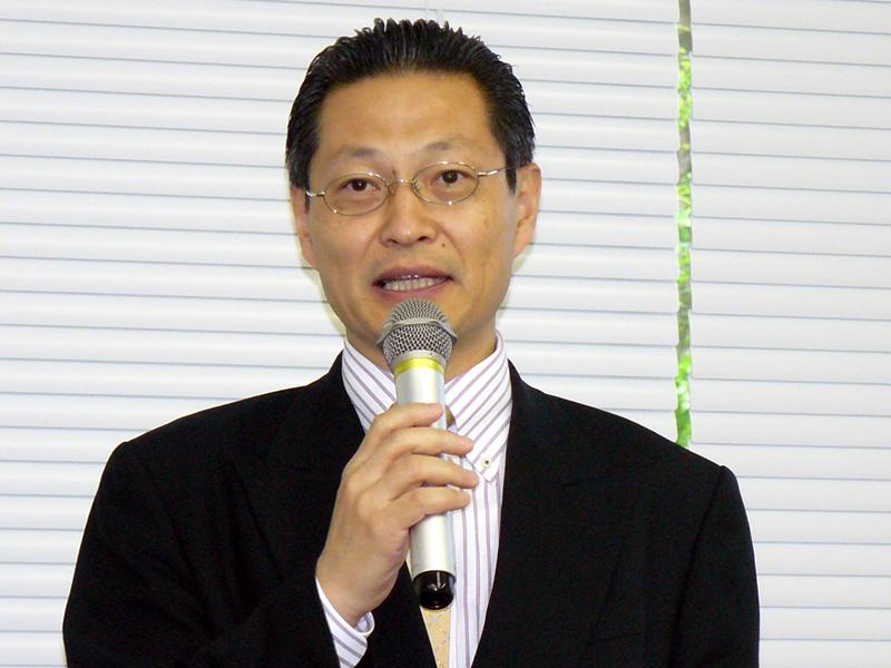 メルー・ネットワークス代表取締役社長の司馬聡氏