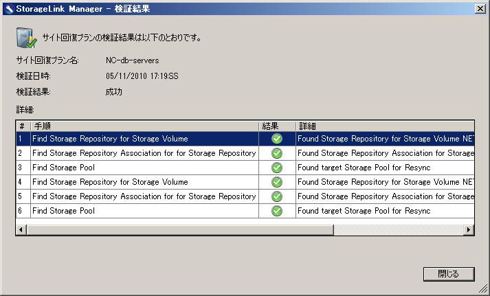 StorageLinkが設定を自動的にチェックしてくれるため、設定ミスがなくなる