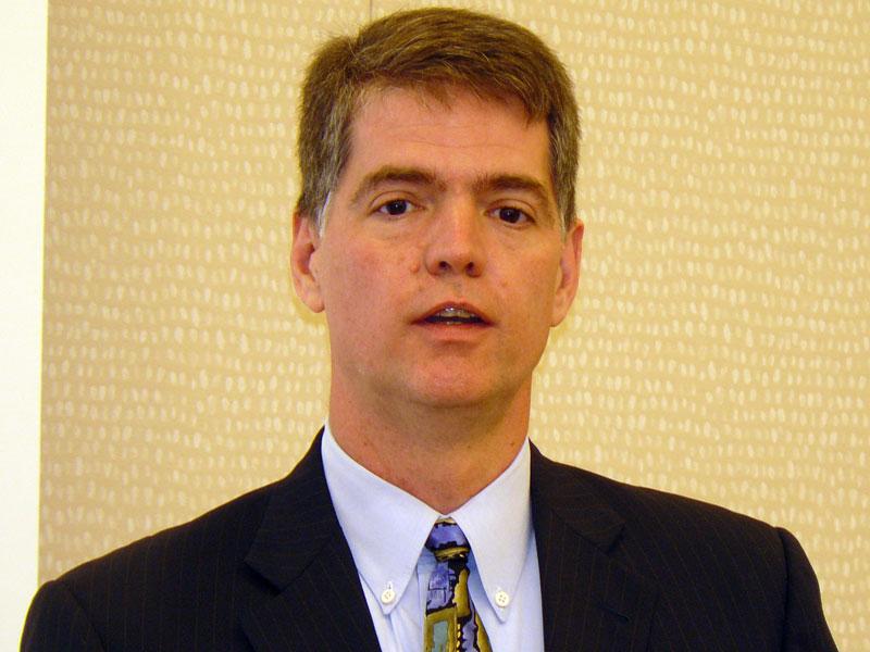 米Netezza社長兼CEOのジム・バーム氏