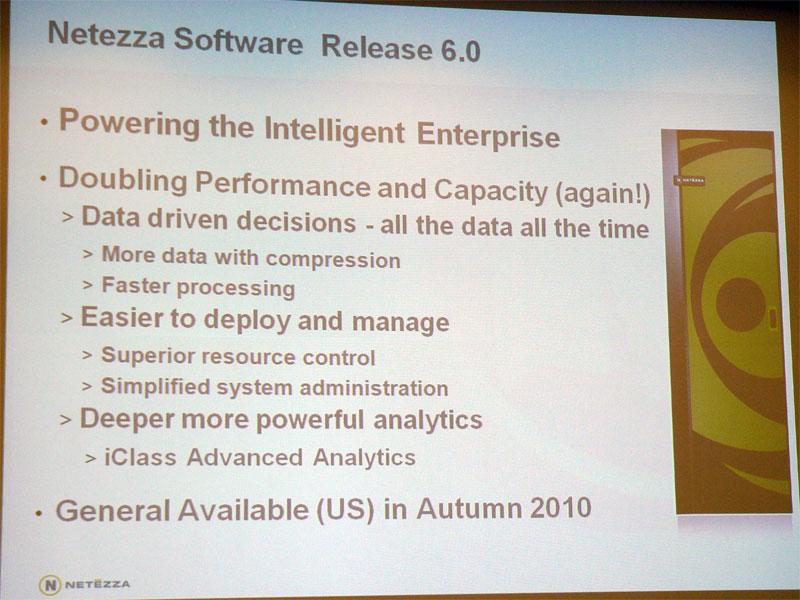 「Netezza Software 6.0」の概要