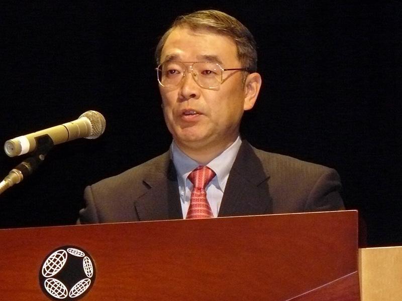 代表取締役社長の遠藤信博氏