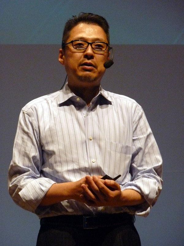 日本マイクロソフト デベロッパー&プラットフォーム統括本部 執行役 統括本部長 大場章弘氏