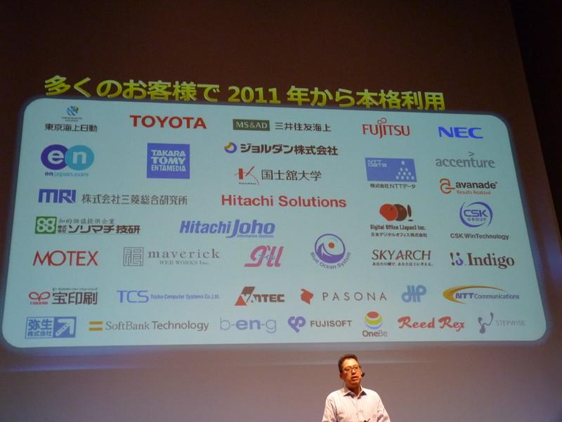2011年から本格利用を行っている企業