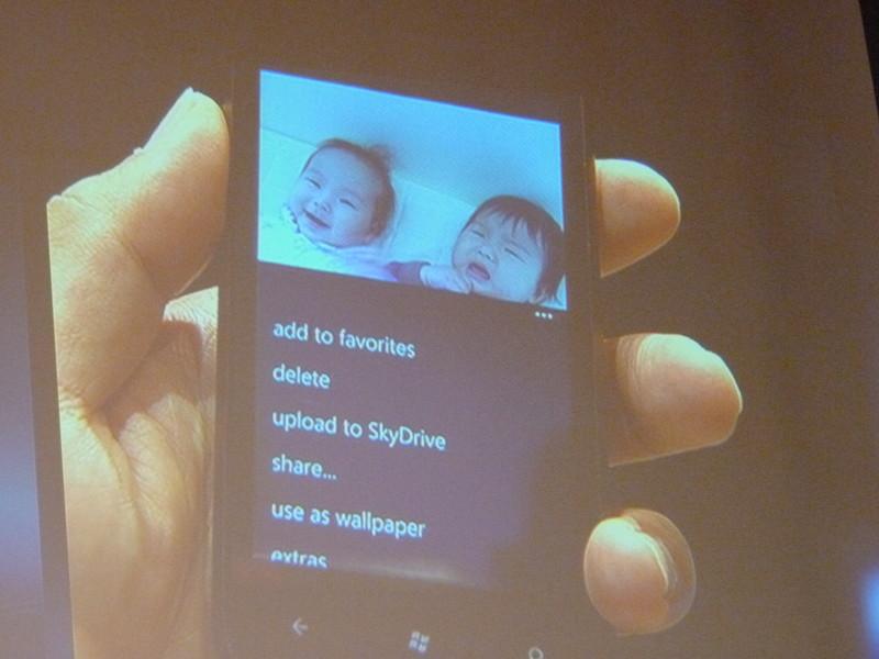 表現力と操作性がWindows Phone 7の特徴