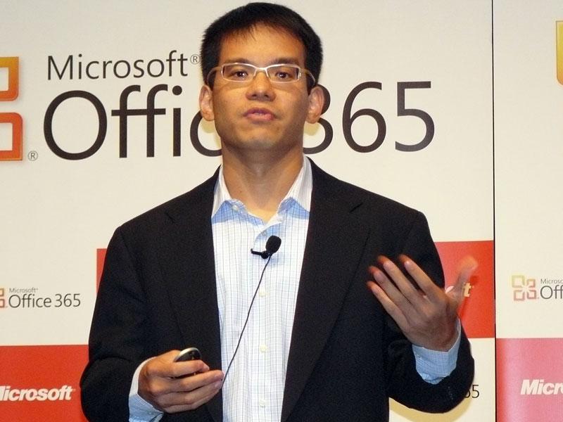 日本マイクロソフト 業務執行役員 インフォメーションワーカービジネス本部 ロアン・カン本部長