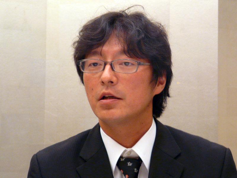 第1営業部クラウドシステムインデレートサーヒス担当の坪田竜一マネージャー