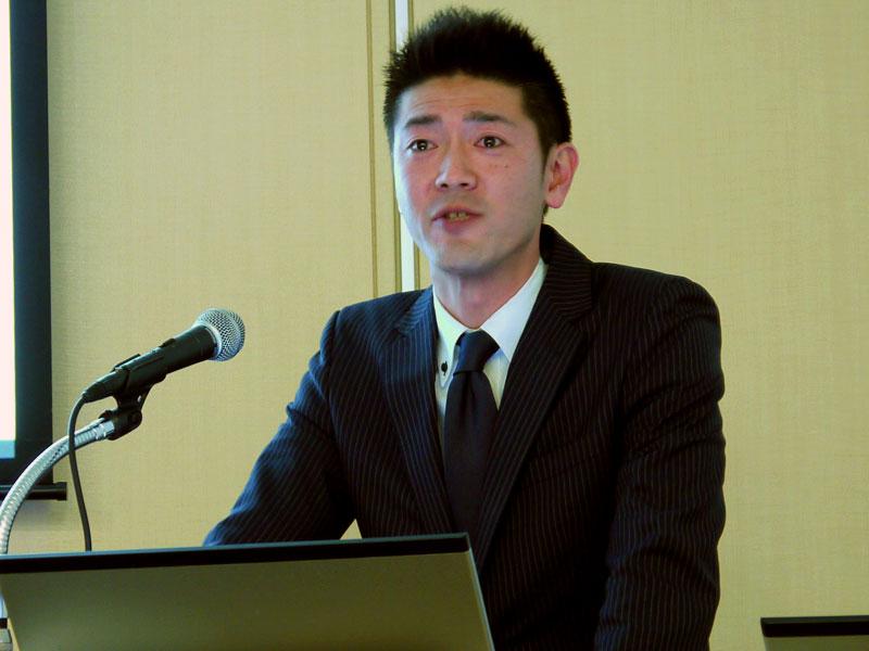 営業統括部 セキュリティ営業課の早川知希氏