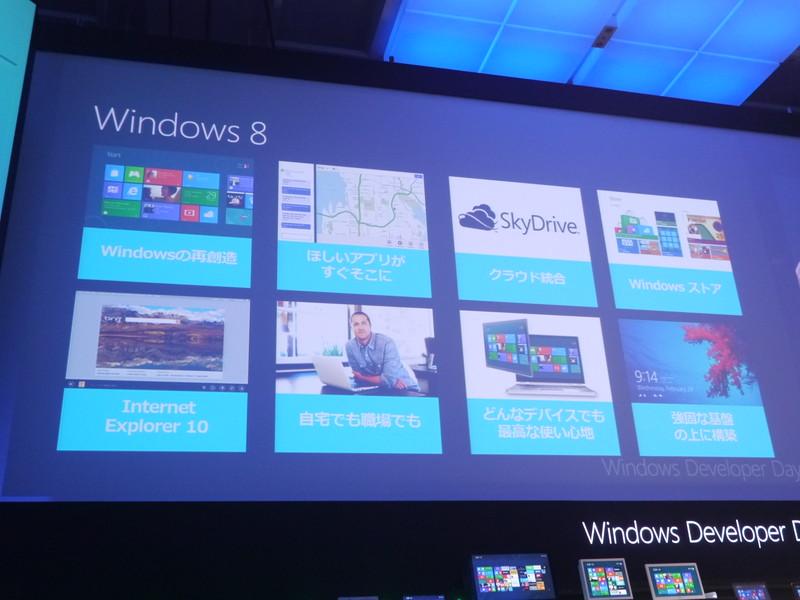 Windows 8の7つの特徴