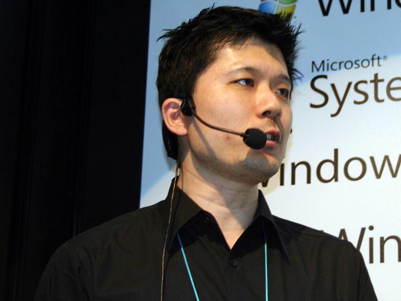 日本マイクロソフト インフォメーションワーカービジネス本部 ビジネスオンラインサービスグループ エグゼクティブプロダクトマネージャの米田真一氏